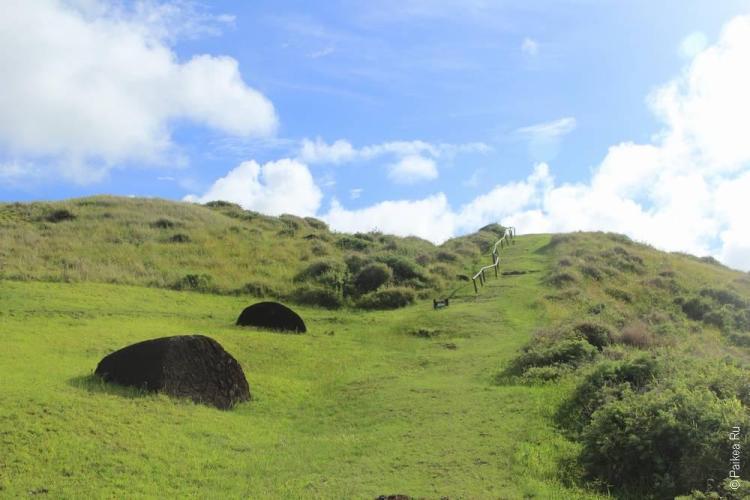 остров пасхи Пуна Пау