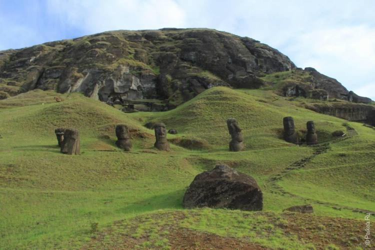 Рано Рараку, Остров Пасхи (Ranu Raraku, Easter island)