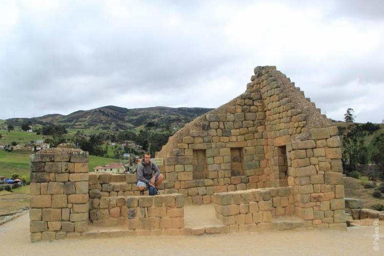 кругосветка эквадор / Храм солнца в Ингапирке
