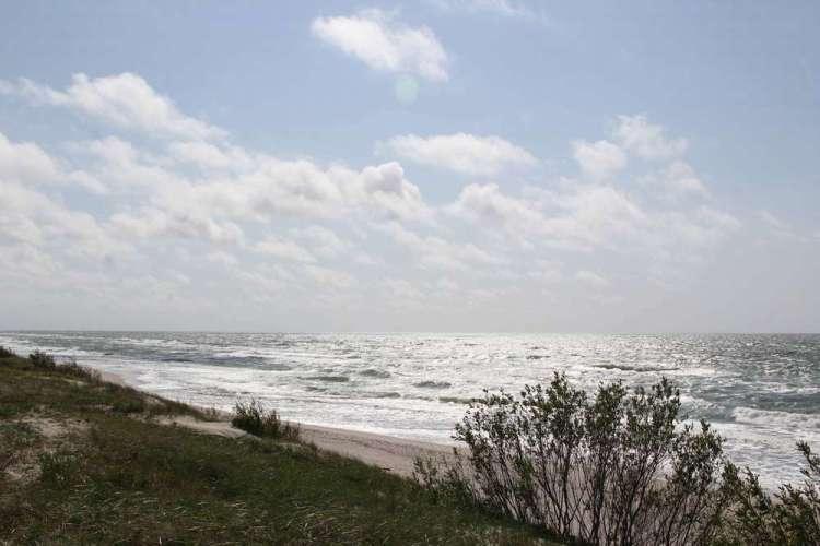 Куршская коса - небо и море