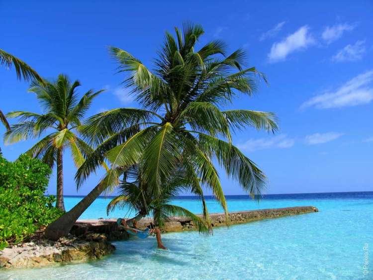Лучше время для отдыха на Мальдивах - это декабрь, январь, февраль и март