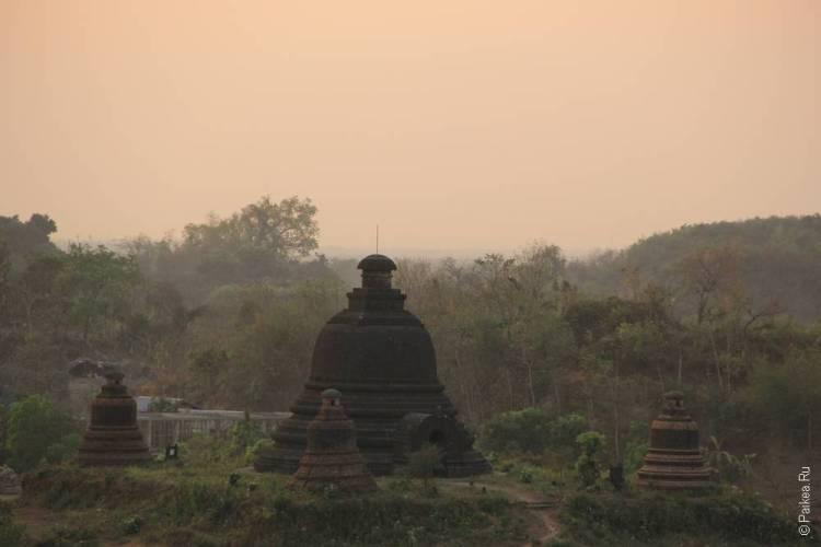Ступа в Мьянме