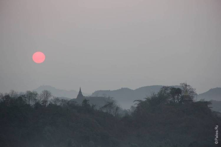 Рассвет в Мьянме