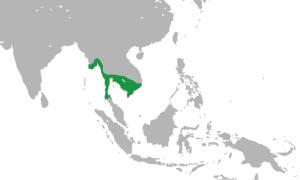 Карта королевства Фунань