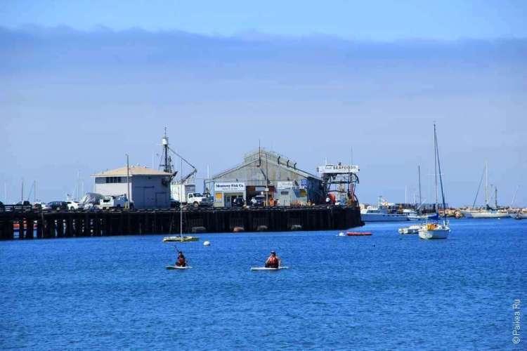 Пристань в Монтерее