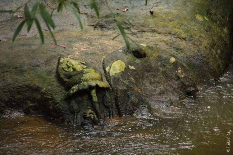 В национальном парке Пном Кбаль Спеан