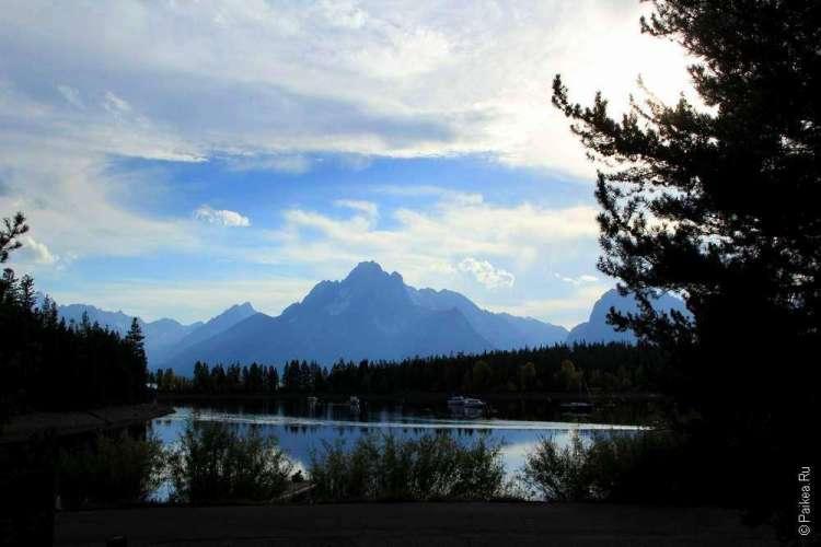 Красивые горы в США