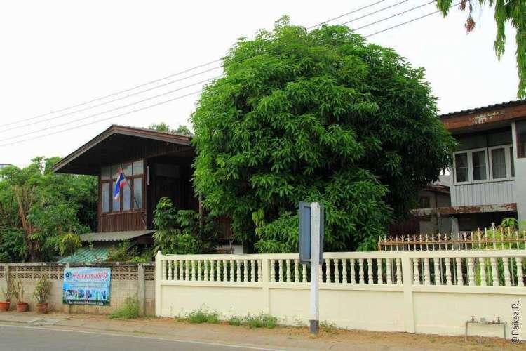 Тиковый дом в Таиланде