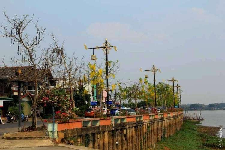 Набережная города Пхаяу