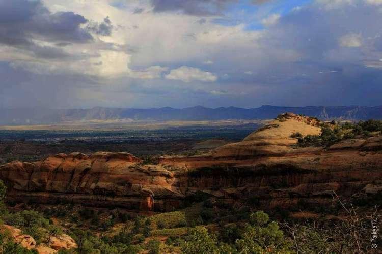 Трейл Кухня Дьявола Национальный памятник Колорадо США 06