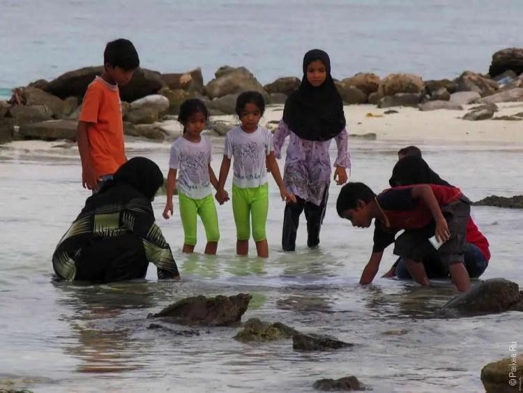 Жизнь на Мальдивах