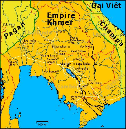 Камбуджадеша - империя кхмеров, Камбоджа