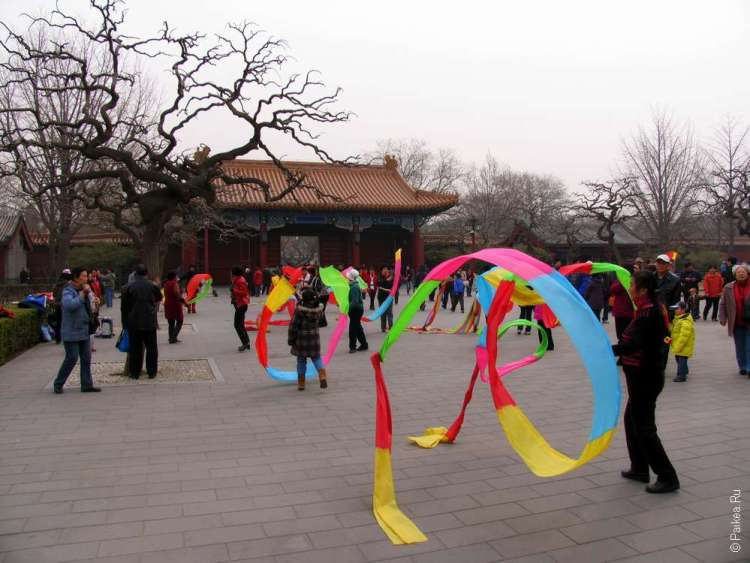 Парк Цзиньшань в Пекине