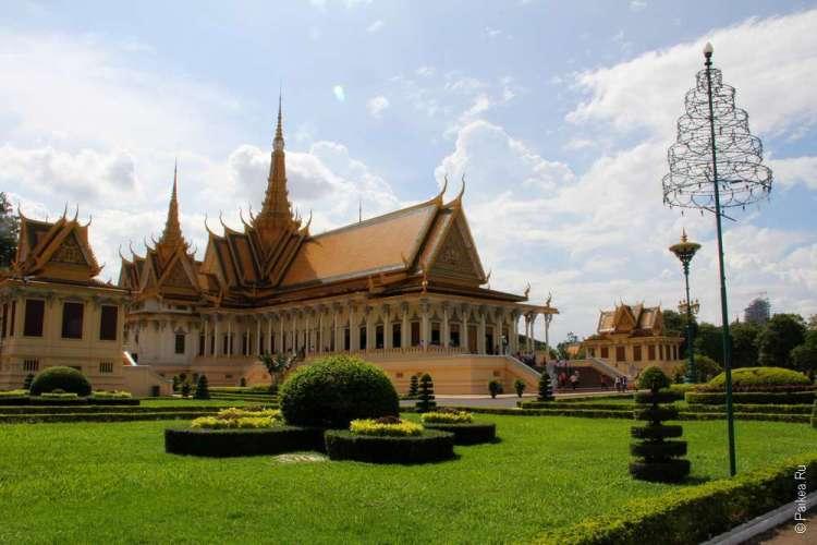Экскурсия в Королевский дворец Пномпеня