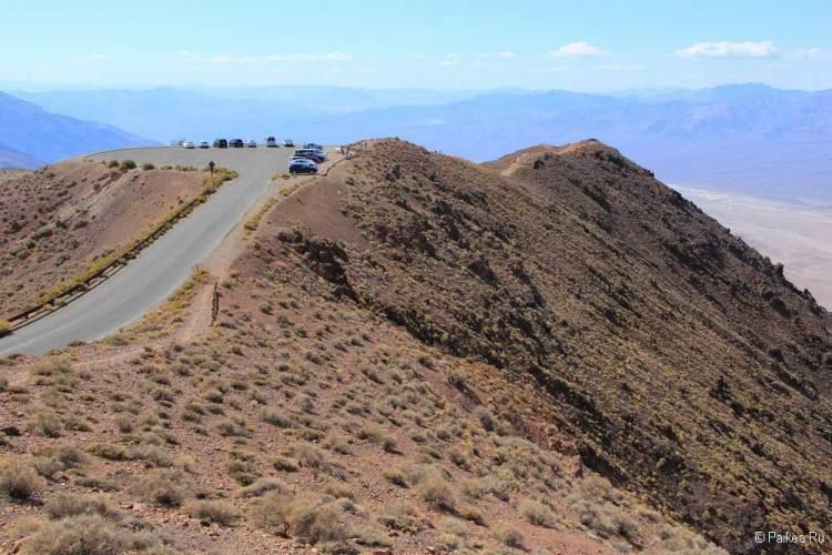 Долина Смерти смотровая площадка