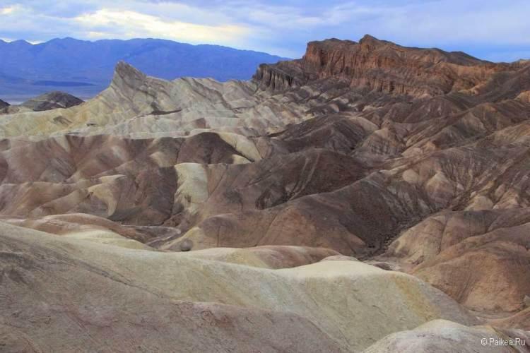 Долина Смерти геология
