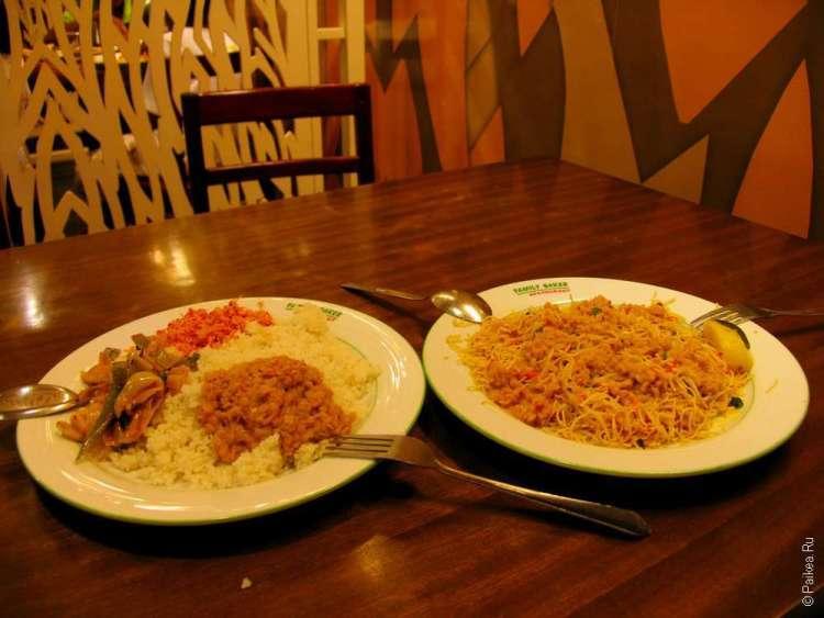 Шри-Ланка достопримечательности еда