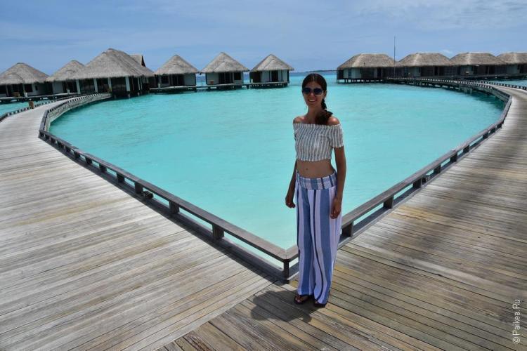 Лучшие водные виллы на Мальдивах