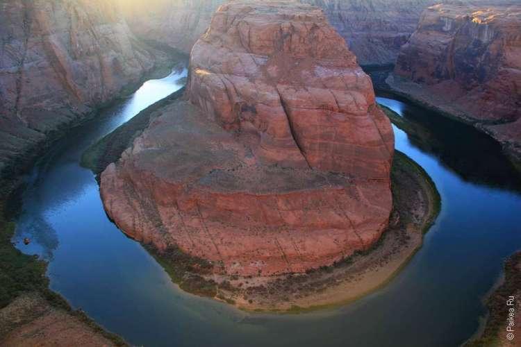 Фото каньона Подкова из нашей поездки в США