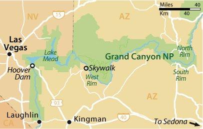 Лас-Вегас и Национальный парк Гранд-Каньон
