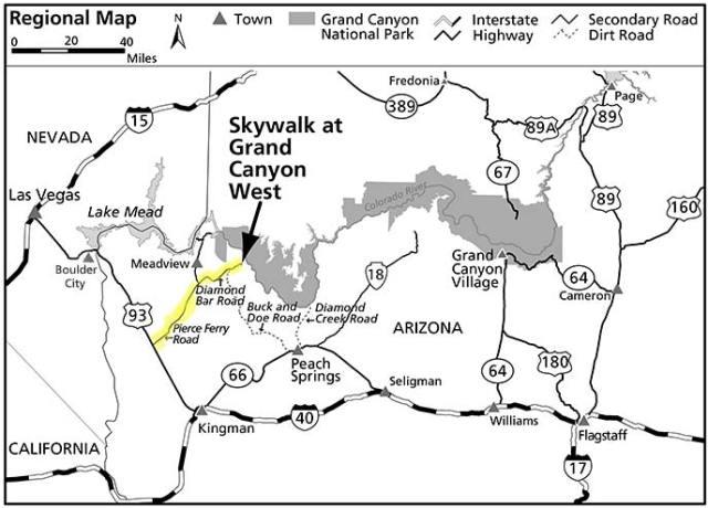 Западная часть Гранд-Каньона