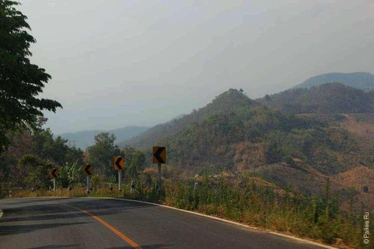 Маршрут по Северному Таиланду на машине