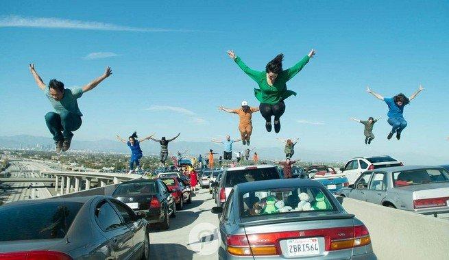 Ла-Ла Ленд - танец на дороге