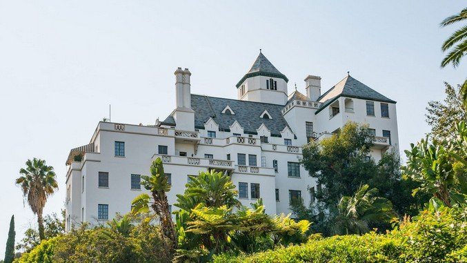 Ла-Ла Ленд отель Шато Мармон