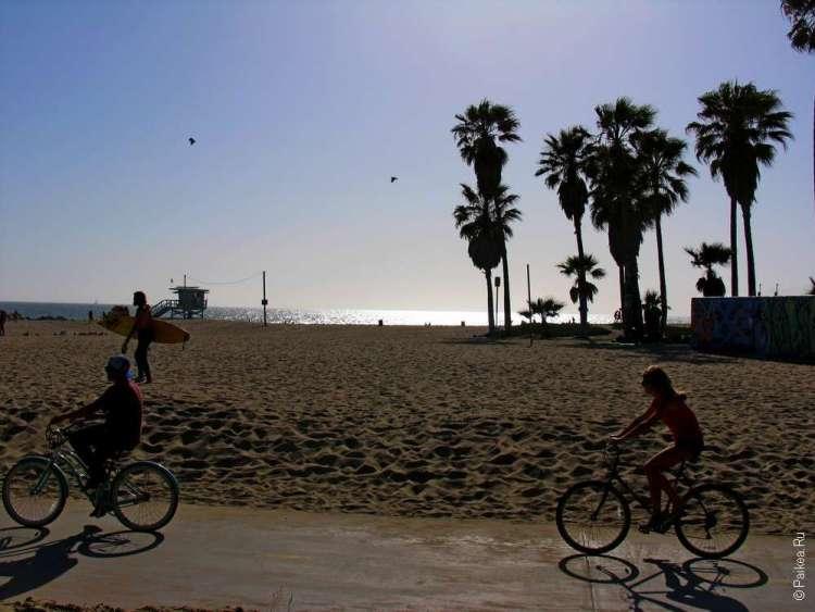 Велосипеды в Лос-Анджелесе, Калифорния, США