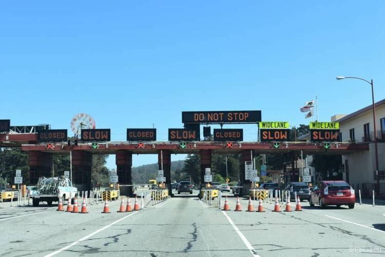 Мост Золотые Ворота в Сан-Франциско оплата проезда