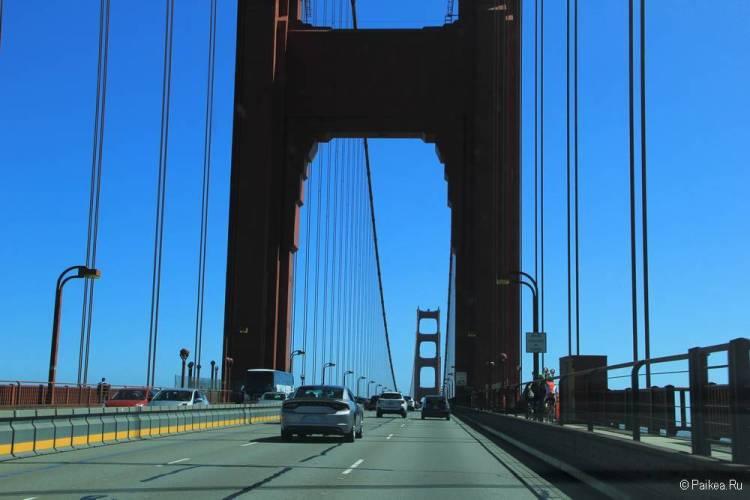 Мост Золотые Ворота в Сан-Франциско 33