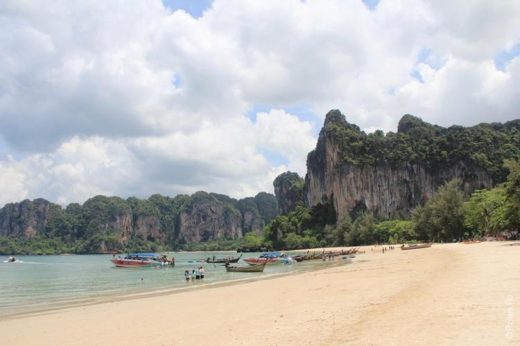 пляж рейли ист краби таиланд