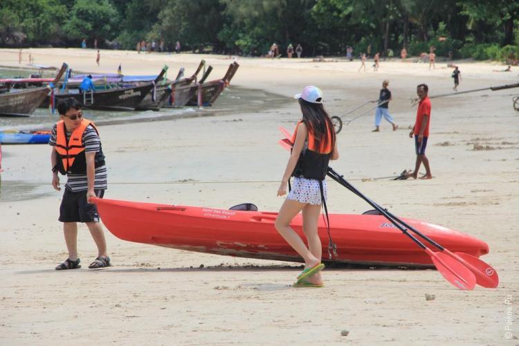пляжи краби - рейли вест