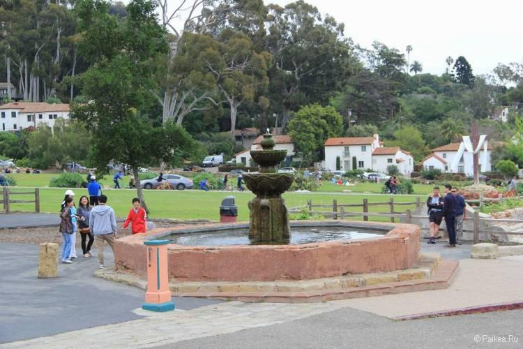 Санта-Барбара фонтан
