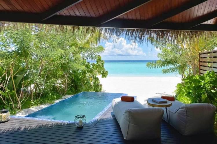 Мальдивы пляжный отдых