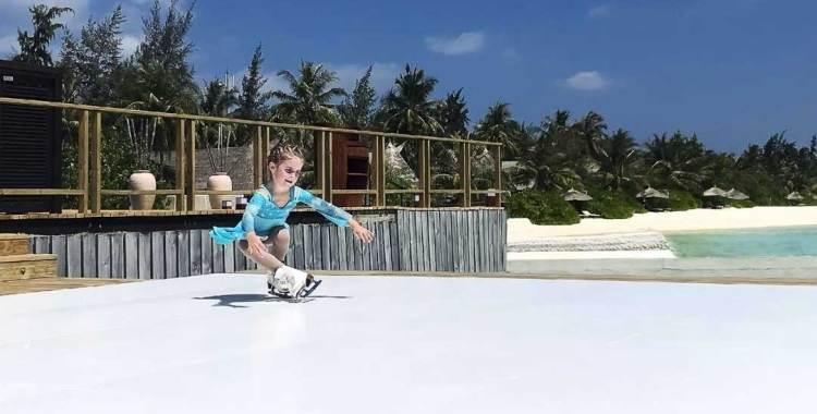Мальдивы на коньках