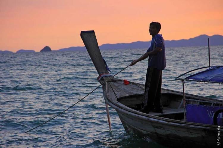 Пляжи в Краби, Таиланд