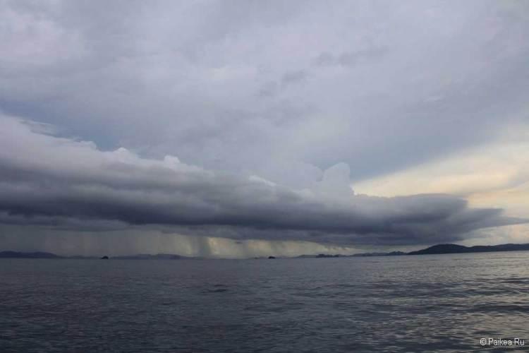 Сезон дождей в Краби