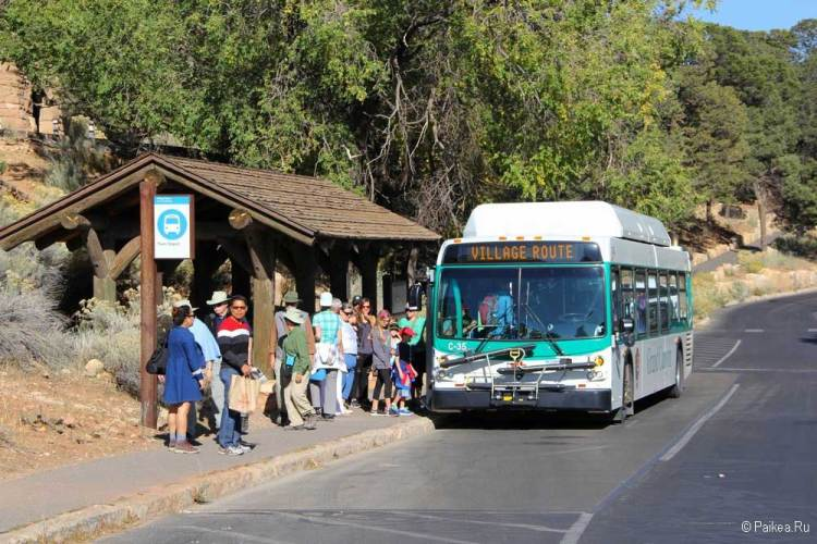 Гранд-Каньон автобус