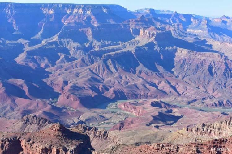 Гранд-Каньон река Колорадо
