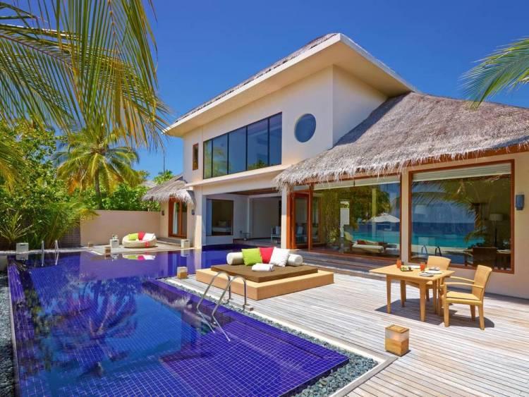 Мальдивы отели с домашним рифом хувафен фуши