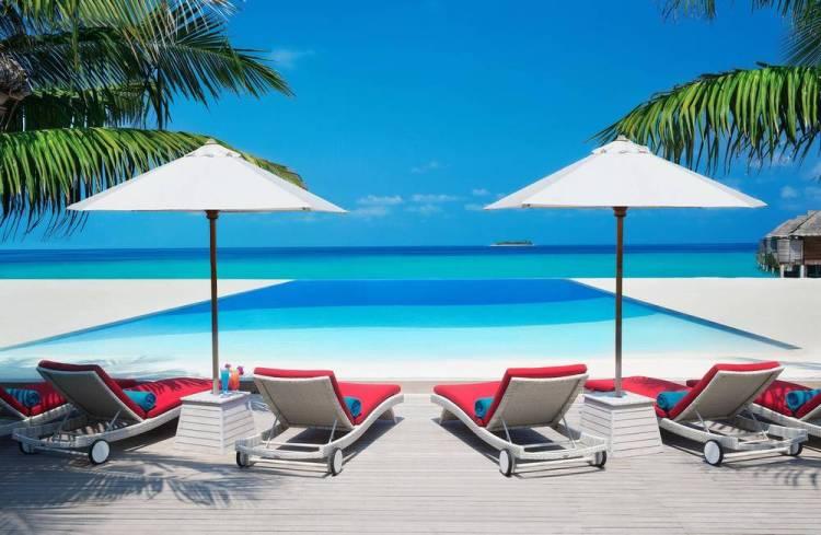 Мальдивы отели с домашним рифом ja manafaru