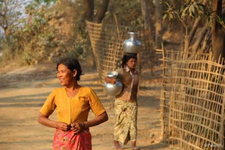 мьянма деревня