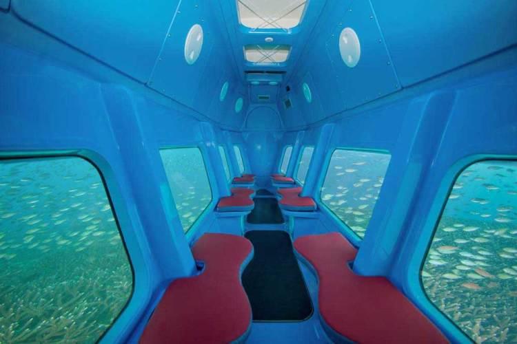 Мальдивы подводная лодка