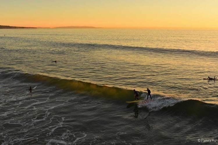 серфинг в калифорнии