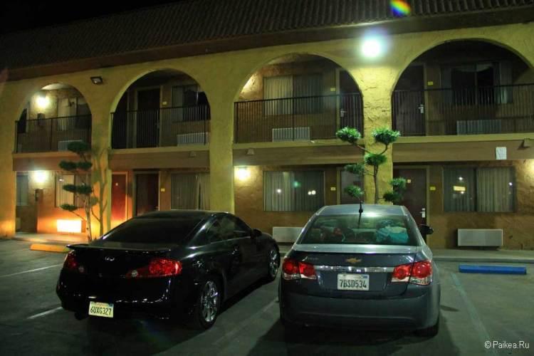отель рядом с парком секвойя
