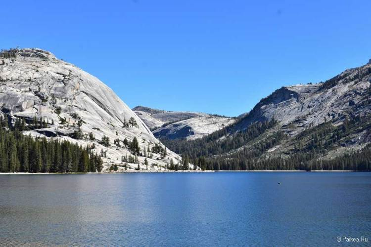 озеро теная в парке йосемити