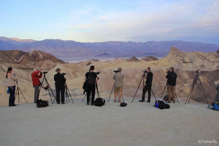 долина смерти фотографы