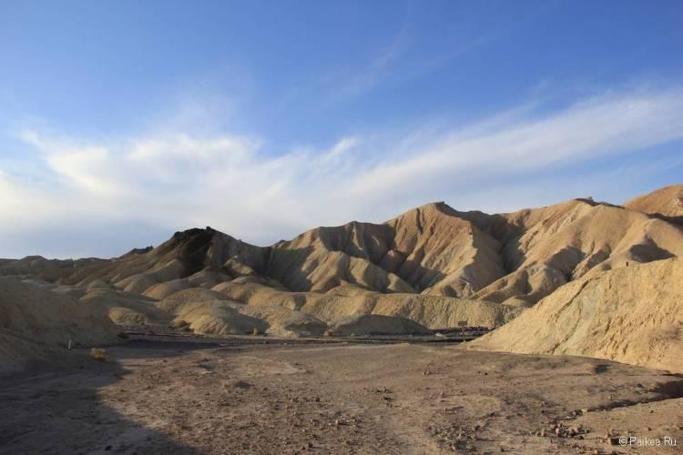 долина смерти река