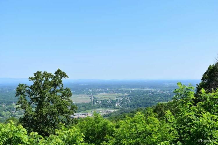 Вид на долину Шенандоа